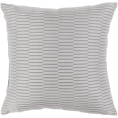Caplin Pillow ~ Light Gray - Cece & Me - Home and Gifts