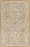 Castello Rugs ~ Light Gray/ Tan/Beige/Taupe