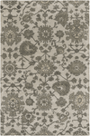 Castello Rugs ~ Medium Gray/Dark Green/Charcoal
