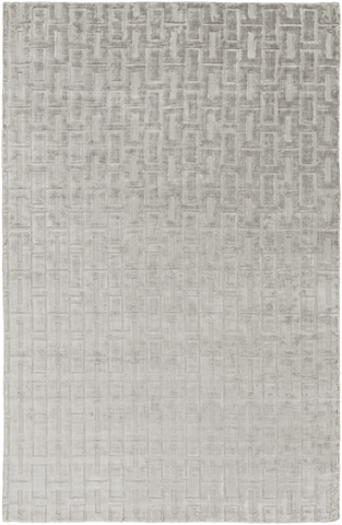 Image of Castlebury Rug ~ Light Gray - Cece & Me - Home and Gifts
