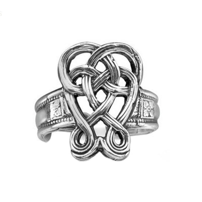 Celtic Knot Silver Spoon Ring - Cece & Me - Home and Gifts
