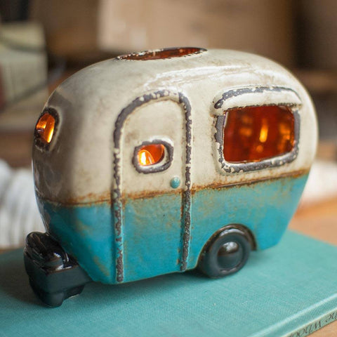 Ceramic Camper Lamp - Cece & Me - Home and Gifts