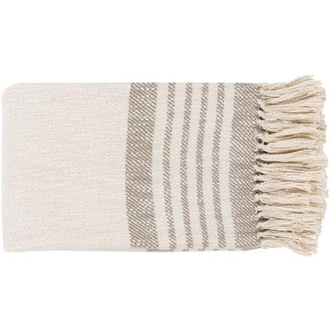 Chamonix Throw ~ Taupe - Cece & Me - Home and Gifts