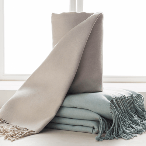 Chantel Throw ~ Ivory - Cece & Me - Home and Gifts
