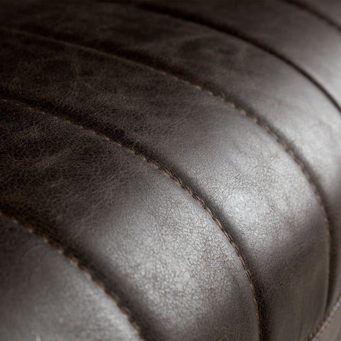 Chauncey Leather Sofa - Cece & Me - Home and Gifts