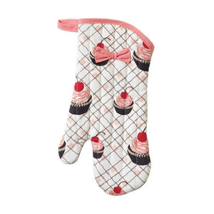 Cherry Cupcakes Oven Mitt - Cece & Me - Home and Gifts