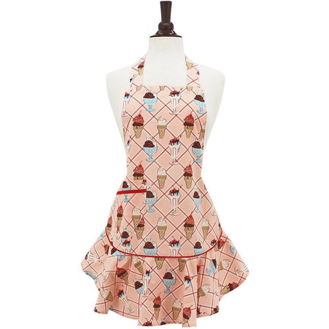 Image of Cherry Sundaes Apron ~ Childs - Cece & Me - Home and Gifts