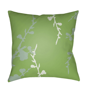 Chinoiserie Floral Pillow II ~ Mint/Sea Foam/Grass Green - Cece & Me - Home and Gifts