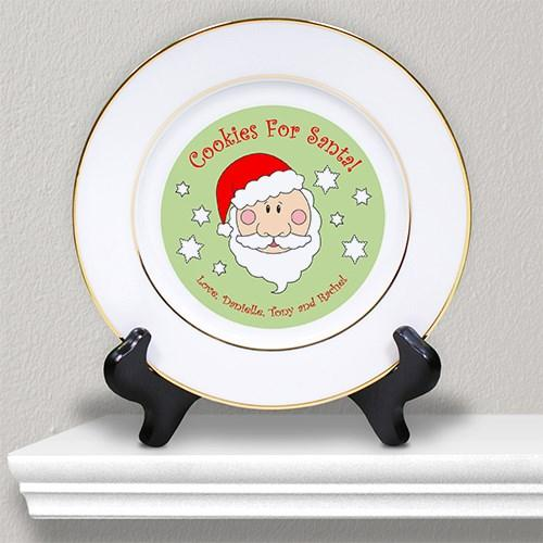 Christmas Plate with Engraved Message - Cece & Me - Home and Gifts