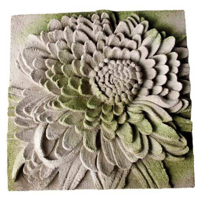 Chrysanthemum Plaque - Cece & Me - Home and Gifts