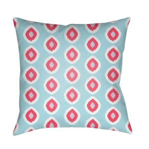 Circles Pillow ~ Pink/Sky Blue - Cece & Me - Home and Gifts