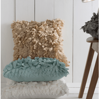 Claire Pillow ~ Khaki - Cece & Me - Home and Gifts