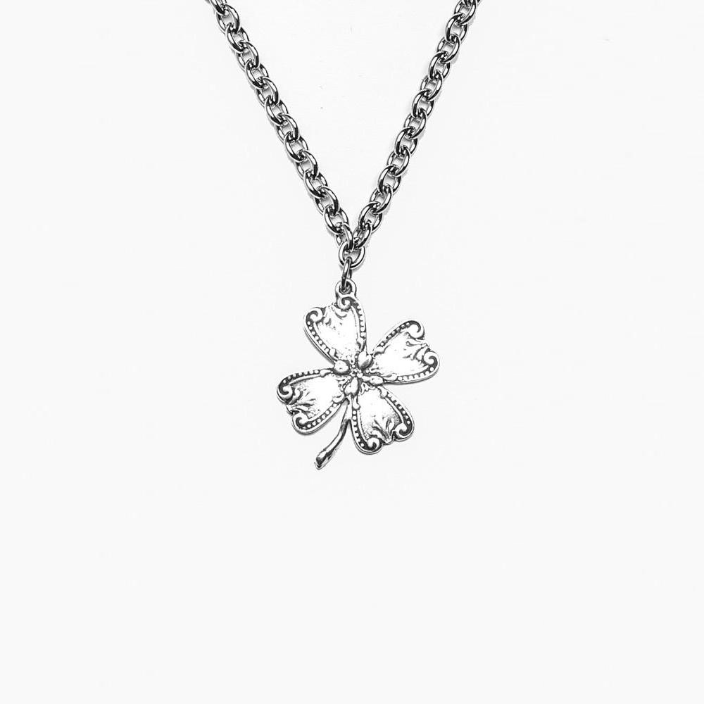 Clover pendant necklace clover pendant necklace cece me home and gifts aloadofball Image collections