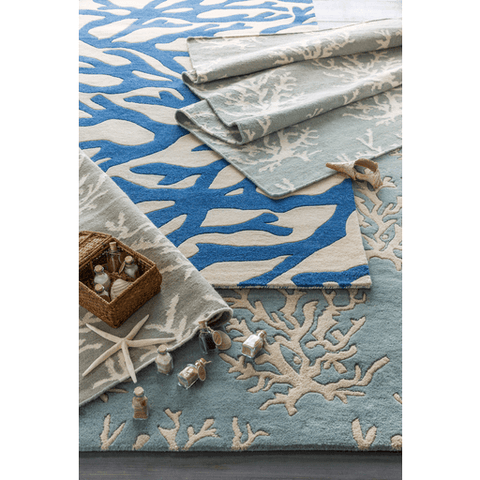Lighthouse Rug ~ Sage - Cece & Me - Home and Gifts