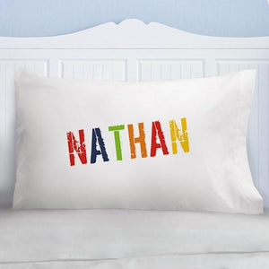 Colorful Name Personalized Pillowcase - Cece & Me - Home and Gifts