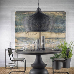 Large Coolie Chandelier