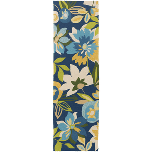 Corday Rug ~ Navy/Bright Yellow/Aqua/Lime - Cece & Me - Home and Gifts