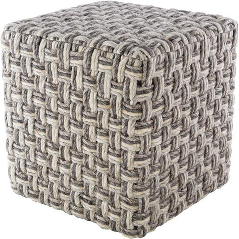 Cordoba Pouf ~ Charcoal - Cece & Me - Home and Gifts