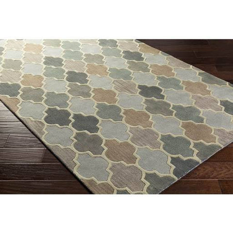 Image of Coretta Rug ~ Cream/Gray/Khaki - Cece & Me - Home and Gifts
