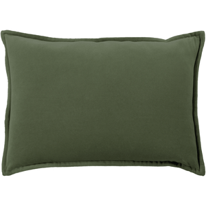 Cotton Velvet Pillow ~ Dark Green - Cece & Me - Home and Gifts