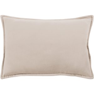 Cotton Velvet Pillow ~ Taupe - Cece & Me - Home and Gifts