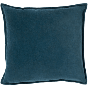 Cotton Velvet Pillow ~ Teal - Cece & Me - Home and Gifts