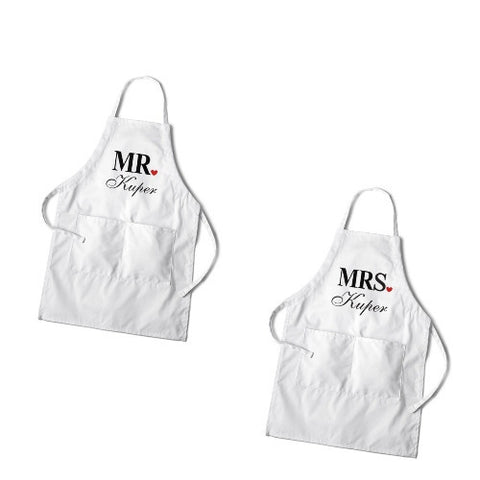 Couples Apron Set - Cece & Me - Home and Gifts