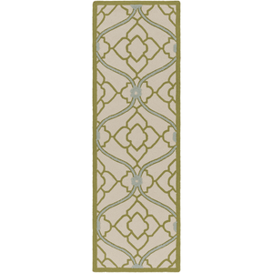 Courtyard Rug ~ Olive/Beige/Medium Gray - Cece & Me - Home and Gifts