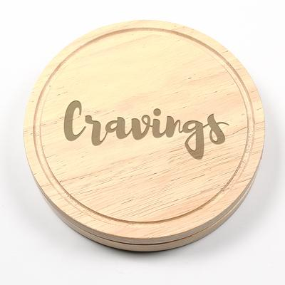 """Cravings"" Gourmet 5pc. Cheese Board Set with Utensils - Cece & Me - Home and Gifts"