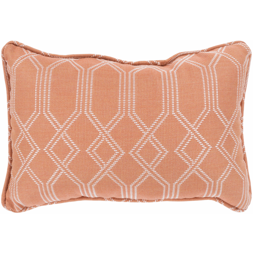 Crissy Pillow ~ Bright Orange & White - Cece & Me - Home and Gifts