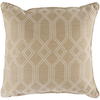 Crissy Pillow ~ Khaki & White - Cece & Me - Home and Gifts