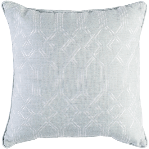 Image of Crissy Pillow ~ Sea Foam & White - Cece & Me - Home and Gifts