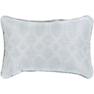 Crissy Pillow ~ Sea Foam & White - Cece & Me - Home and Gifts