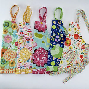 Cute Orange & Flower Power Apron - Cece & Me - Home and Gifts