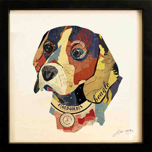 Beagle ~ Art Collage - Cece & Me - Home and Gifts