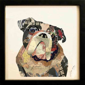 English Bulldog ~ Art Collage - Cece & Me - Home and Gifts
