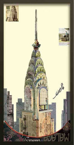 Empire State Building ~ Art Collage - Cece & Me - Home and Gifts