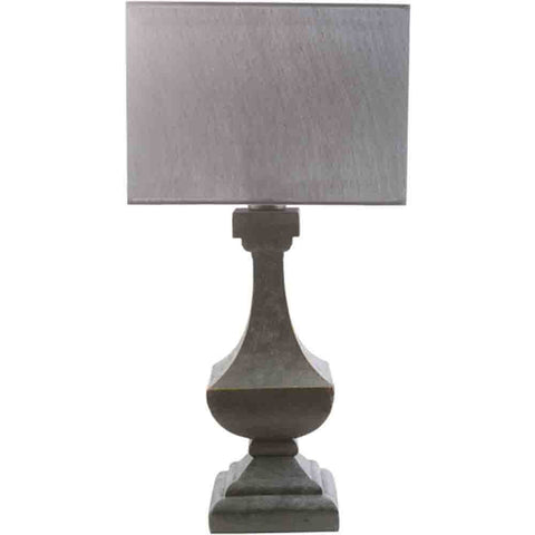 Image of Oceanside Outdoor Table Lamp ~ Pewter & Gray - Cece & Me - Home and Gifts