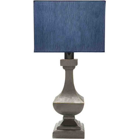 Image of Oceanside Outdoor Lamp ~ Pewter & Blue - Cece & Me - Home and Gifts