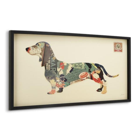 Image of Dachshund ~ Art Collage - Cece & Me - Home and Gifts