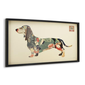 Dachshund ~ Art Collage - Cece & Me - Home and Gifts