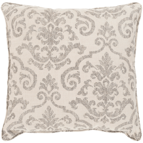 Image of Damara Pillow ~ Taupe - Cece & Me - Home and Gifts