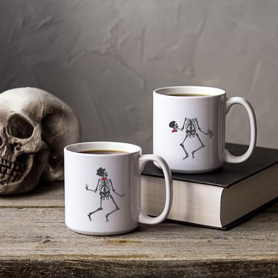 Dancing Skeletons Large 20 oz. Coffee Mug (Set of 2) - Cece & Me - Home and Gifts