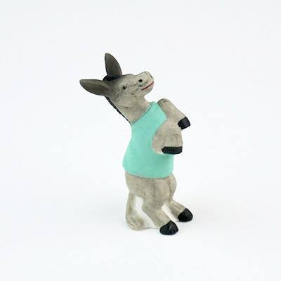Fun Circus Porcelain Candle Holder - Dancing Donkey - Cece & Me - Home and Gifts