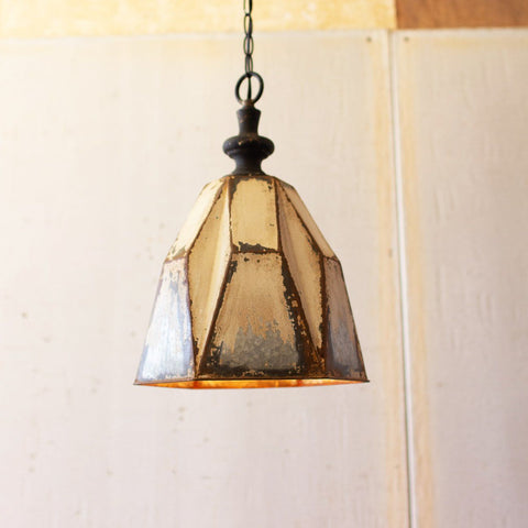 Image of Dawn Metal Pendant Light - Cece & Me - Home and Gifts