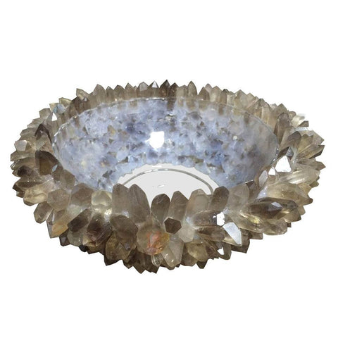 Decorative Quartz Fume Bowl - Cece & Me - Home and Gifts