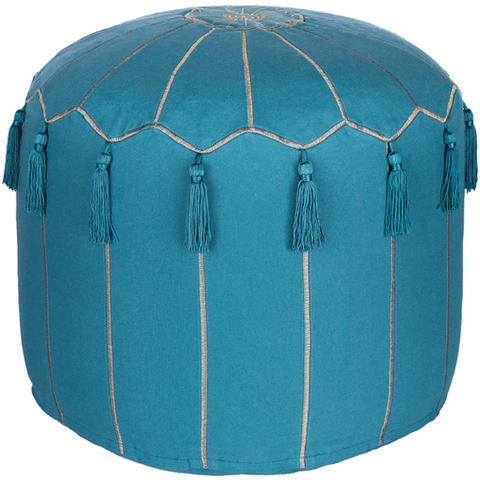 Delhi Pouf ~ Sky Blue - Cece & Me - Home and Gifts