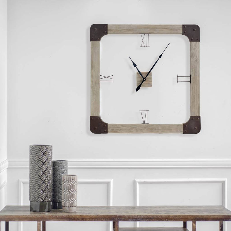 Delta I Oversized Square Clock - Cece & Me - Home and Gifts