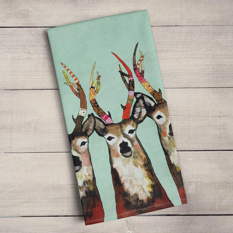 Designer Deer Tea Towels - Cece & Me - Home and Gifts