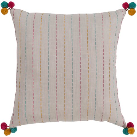 Dhaka Pillow ~ Cream - Cece & Me - Home and Gifts